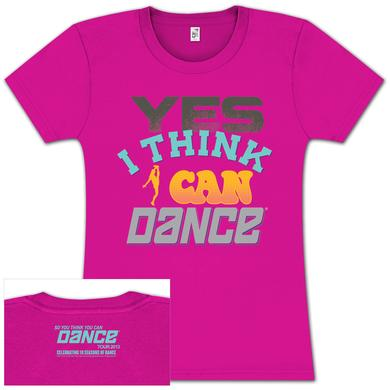 So You Think You Can Dance Tour So You Think You Can Dance YES Babydoll T-Shirt