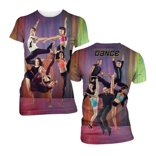So You Think You Can Dance Tour So You Think You Can Dance Dance Dye Sublimation Babydoll