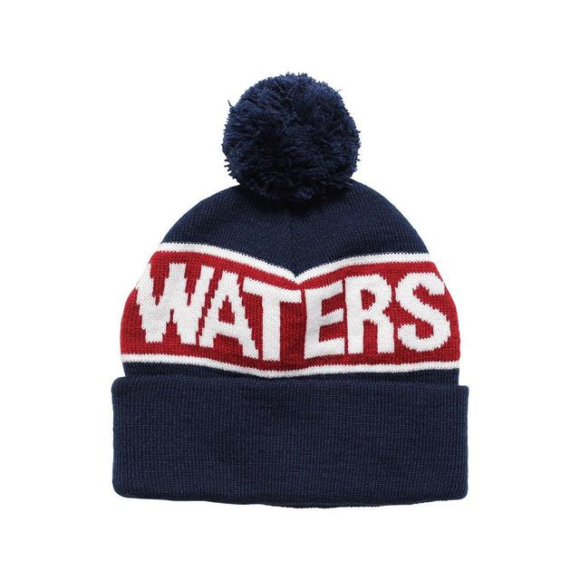 Waters & Army Rivers Pom Beanie Navy