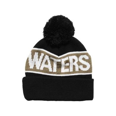 Waters & Army Rivers Pom Beanie Black