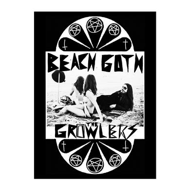The Growlers Beach Goth Pentagram Back Patch