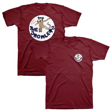 The Growlers Rat Face Maroon T-Shirt