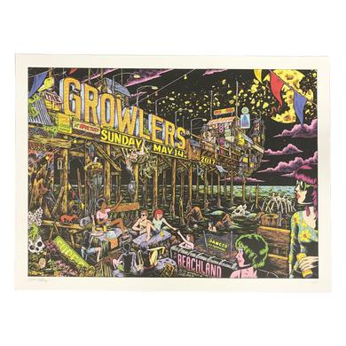 The Growlers Cleveland Show Poster