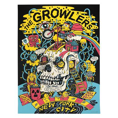 The Growlers New York Show Poster
