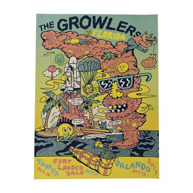 The Growlers Florida Show Poster