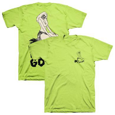 The Growlers Hula Hula Ghoul T-Shirt - Lime Green