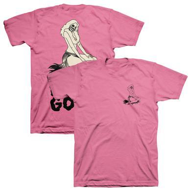 The Growlers Hula Hula Ghoul T-Shirt - Pink
