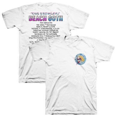 The Growlers 2018 Beach Goth T-Shirt - White