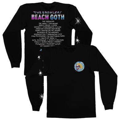 The Growlers 2018 Beach Goth Longsleeve T-Shirt - Black