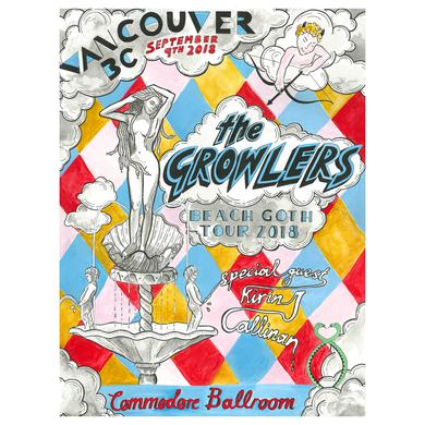 The Growlers Vancouver Show Poster