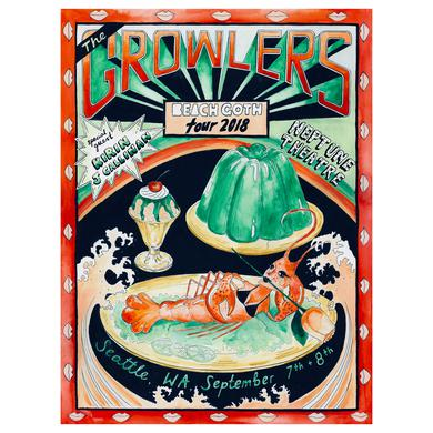 The Growlers Seattle Show Poster