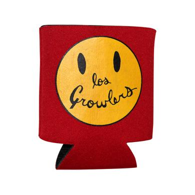 The Growlers Smiley Face Koozie