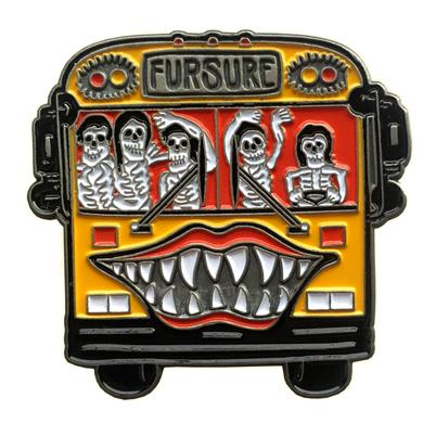 """The Growlers Numbered """"Brandy"""" Bus Pin"""