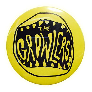 The Growlers Classic Mouth Logo Button