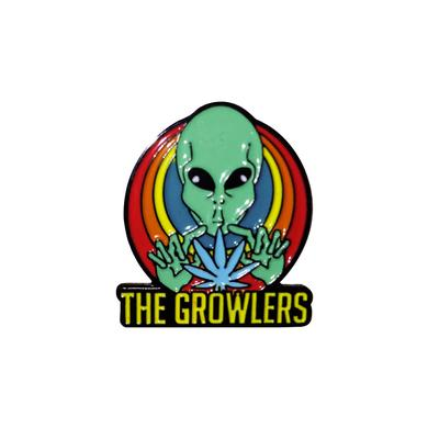 The Growlers Get Lifted Metal Pin
