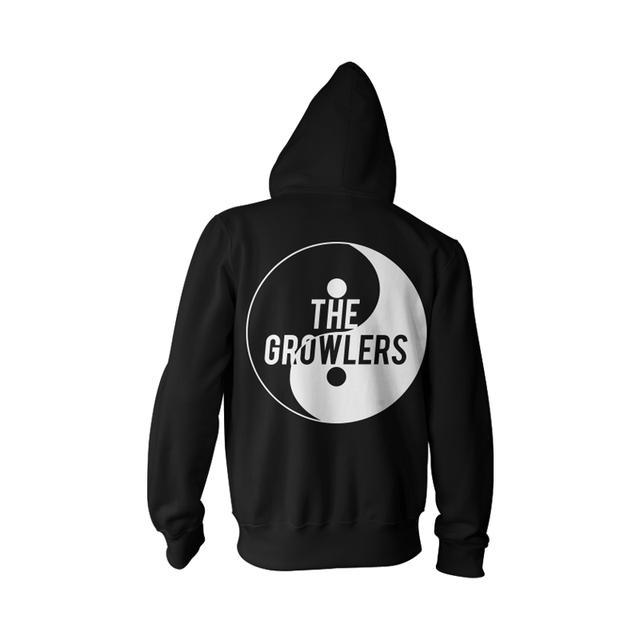 The Growlers Yin & Yang Zip-Up Hoodie