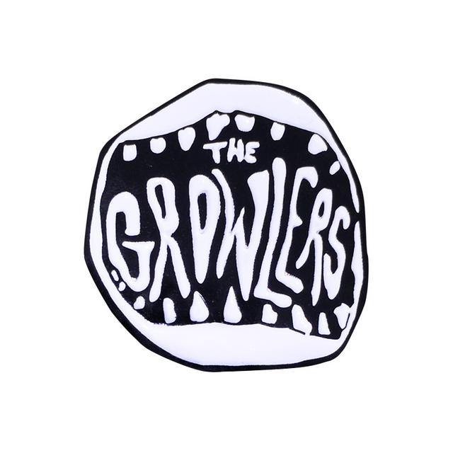 The Growlers Classic Mouth Logo Metal Pin