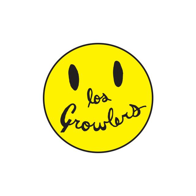 The Growlers Smiley Face Patch