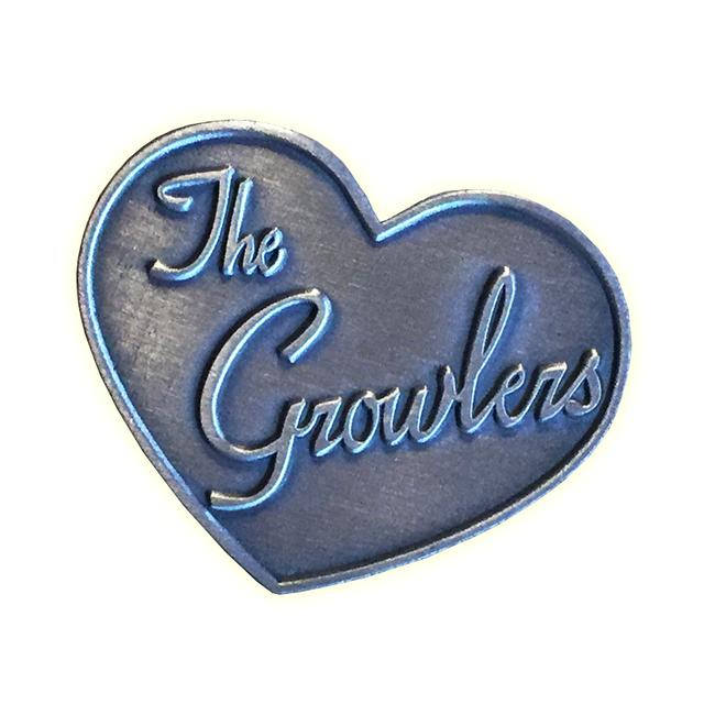 The Growlers Rare Heart Pin