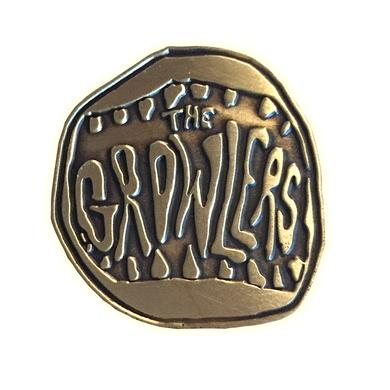 The Growlers Classic Mouth Logo Gold Mouth Pin