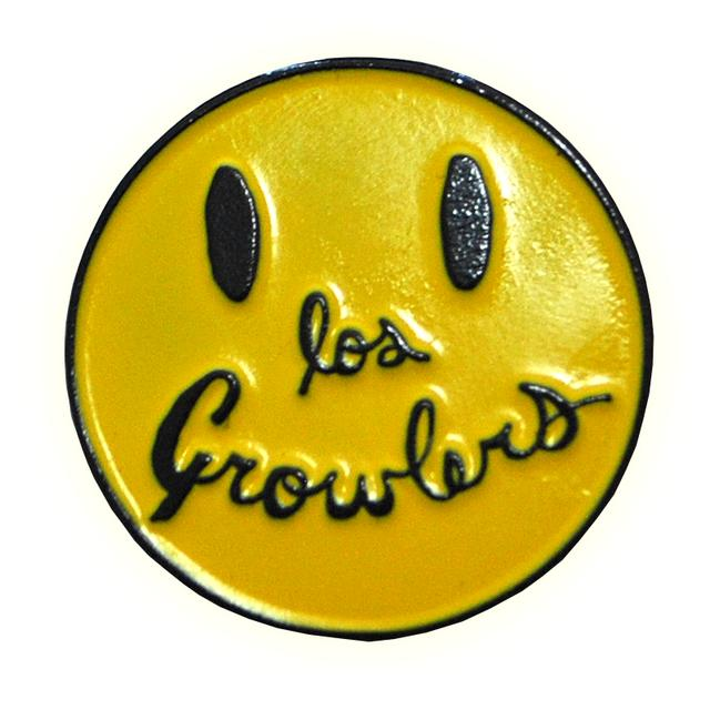 The Growlers Smiley Pin