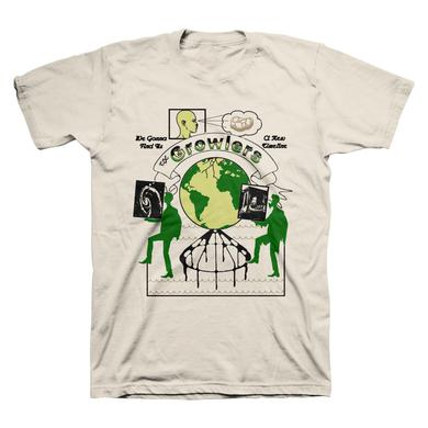 "The Growlers Limited Edition ""Row "" Lyric T-Shirt"