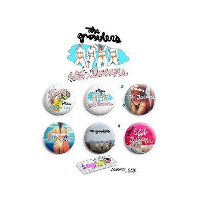 The Growlers Wet Dreams Pin Pack