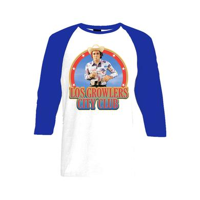 Los Growlers Iron-On Baseball T-Shirt