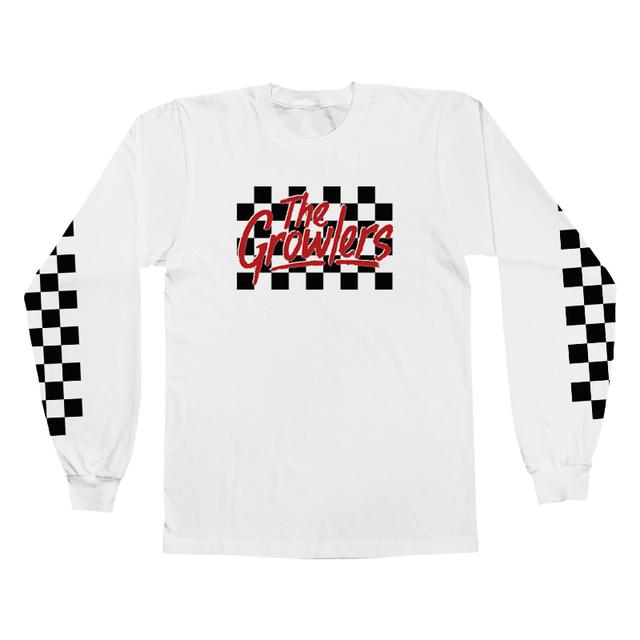 The Growlers Checkers Longsleeve T-Shirt