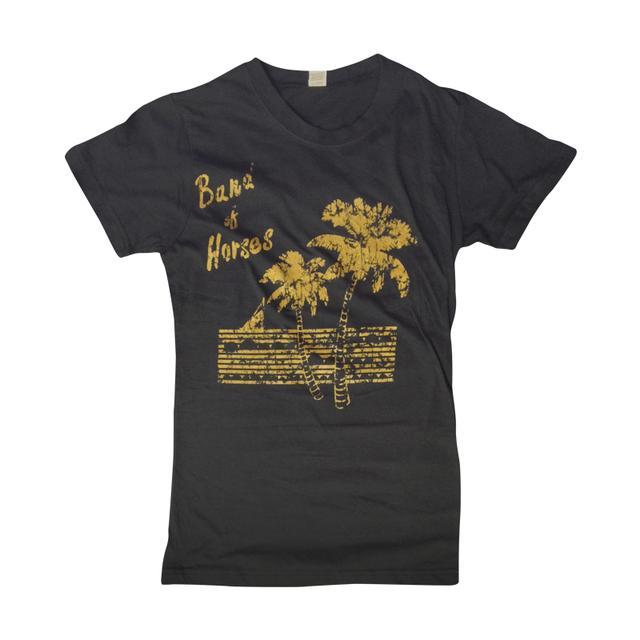 Band Of Horses Palm Tree Womens Tee