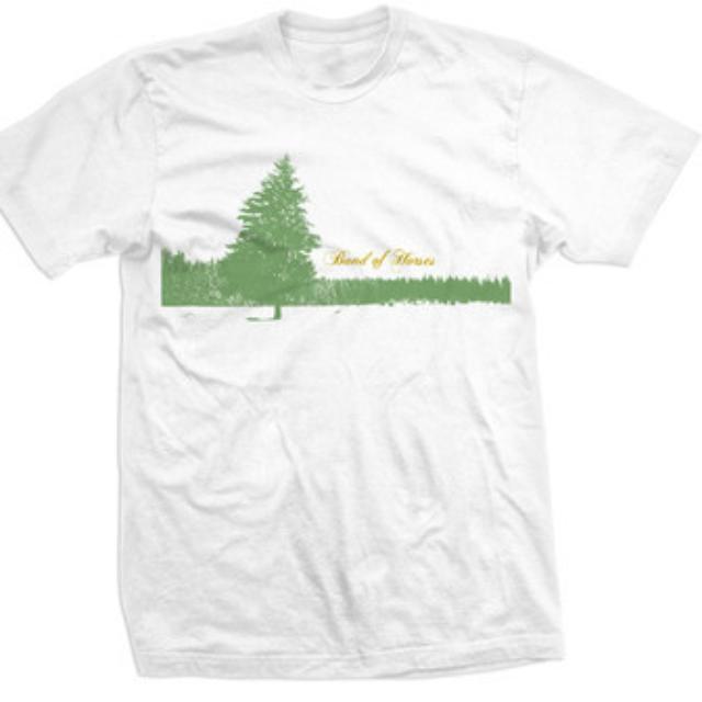 Band Of Horses Pine Tree Unisex Tee