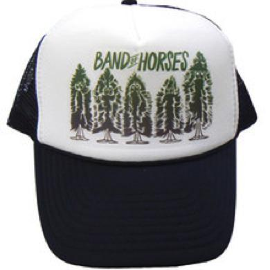Band Of Horses Pine Trees Trucker Hat