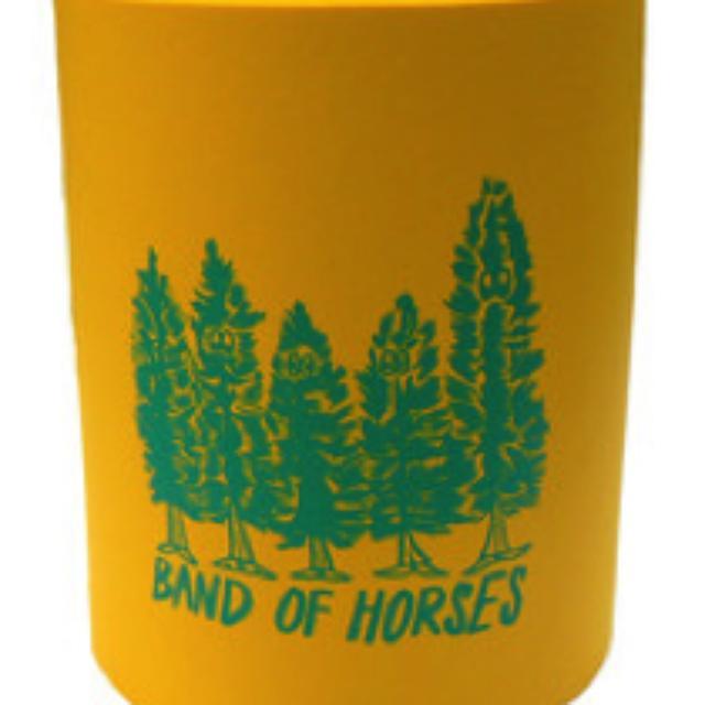 Band Of Horses Pine Trees Koozie