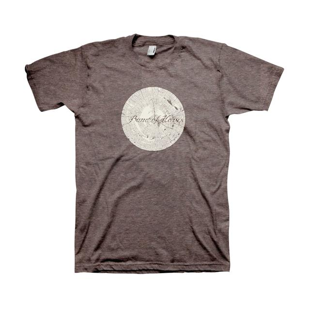 Band Of Horses Tree Ring Unisex Tee (Coffee)