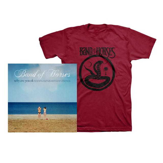 Band Of Horses Why Are You OK Album + Tee