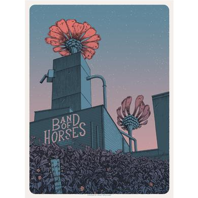 Band Of Horses Portland, OR 8/19/16 Poster