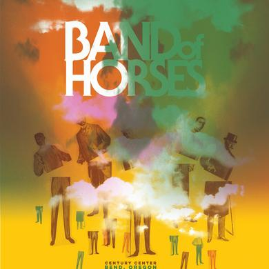 Band Of Horses Bend, OR 8/22/16 Poster