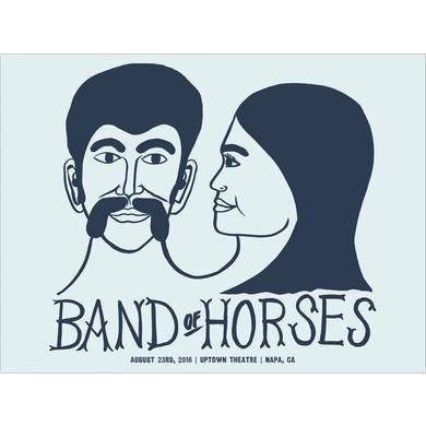 Band Of Horses Napa, CA 8/23/16 Poster