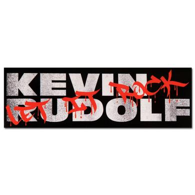 Kevin Rudolf Graffiti Sticker