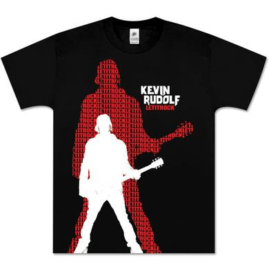 Kevin Rudolf Rock the Lyrics Jumbo Silhouette T-Shirt