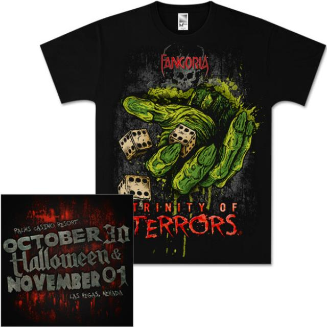 Trinity of Terrors Zombie Dice Event Tee