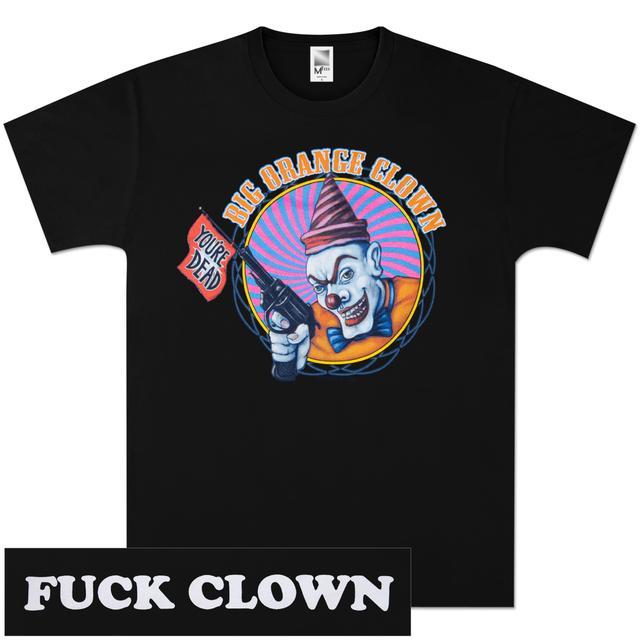 Apocalyptic Nightmare Clown with Gun T-Shirt