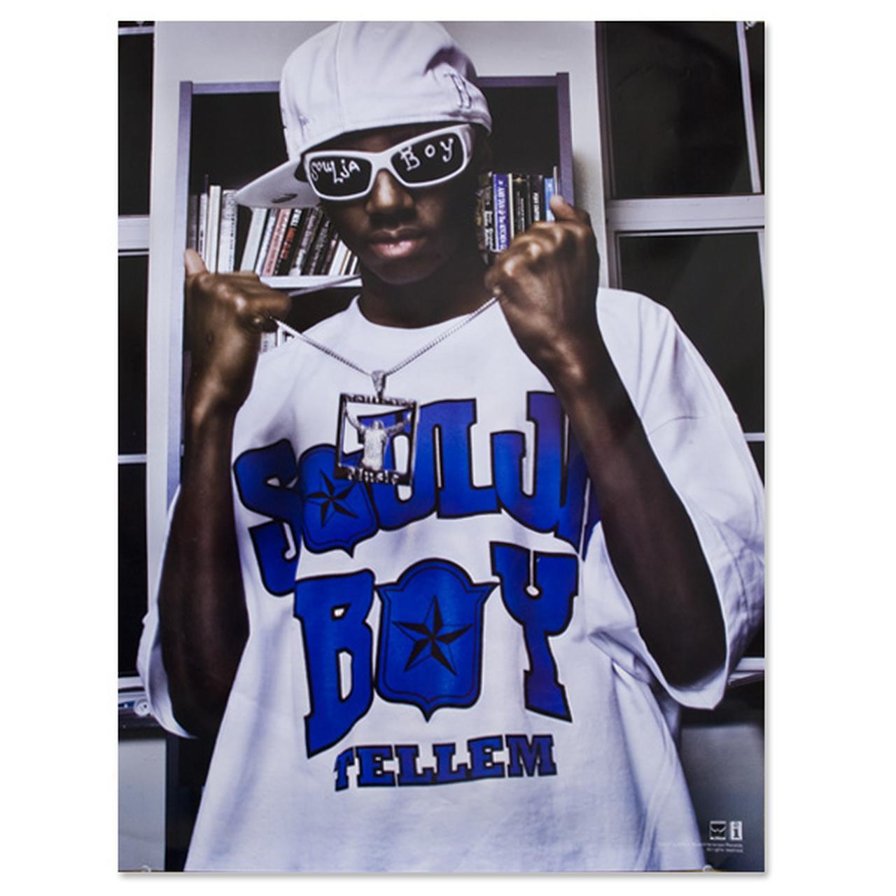 Soulja Boy Tell Em Standing White Tee Poster