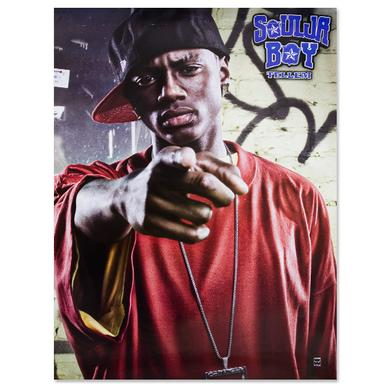 Soulja Boy Tell 'Em Tell 'Em Red Tee Poster