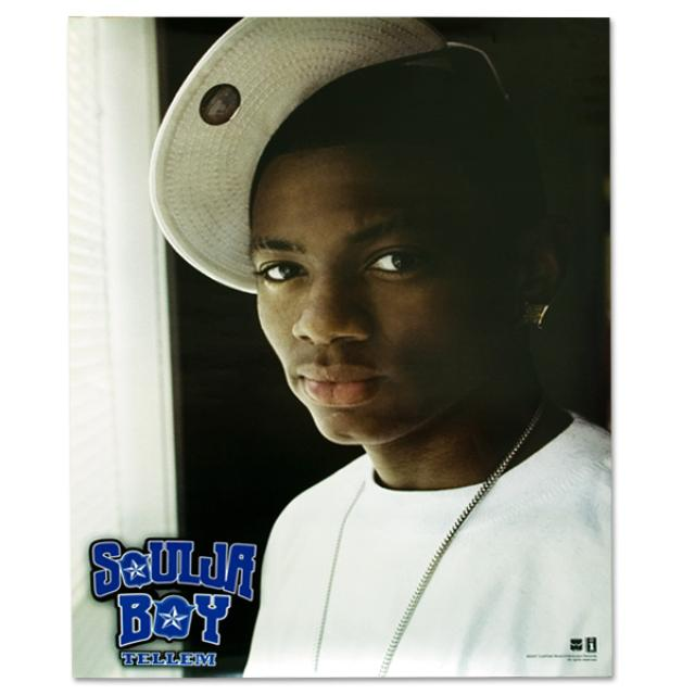 Soulja Boy Tell 'Em Tell 'Em Tilt Your Cap Poster