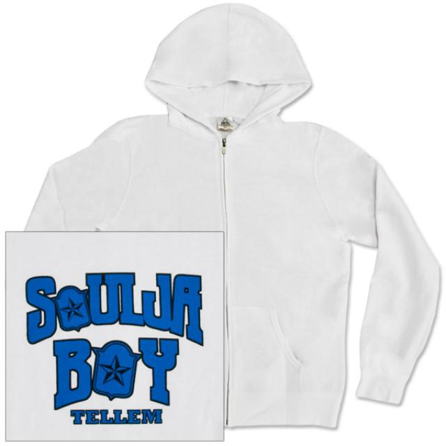 Soulja Boy Tell 'Em Women's Zip Up Hoodie