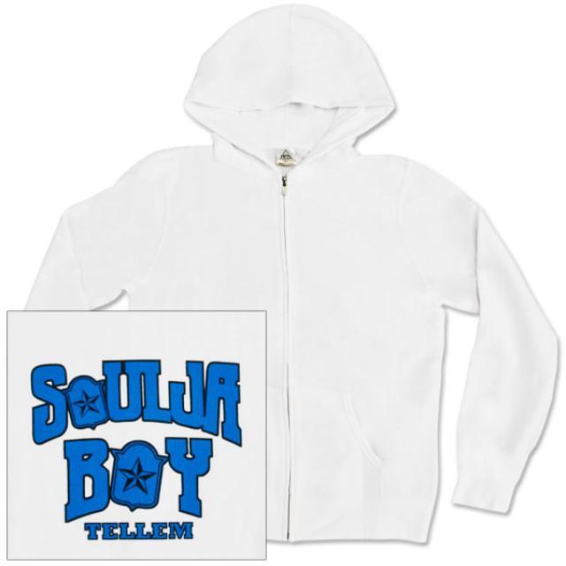 Soulja Boy Mens Zip-Hoodie