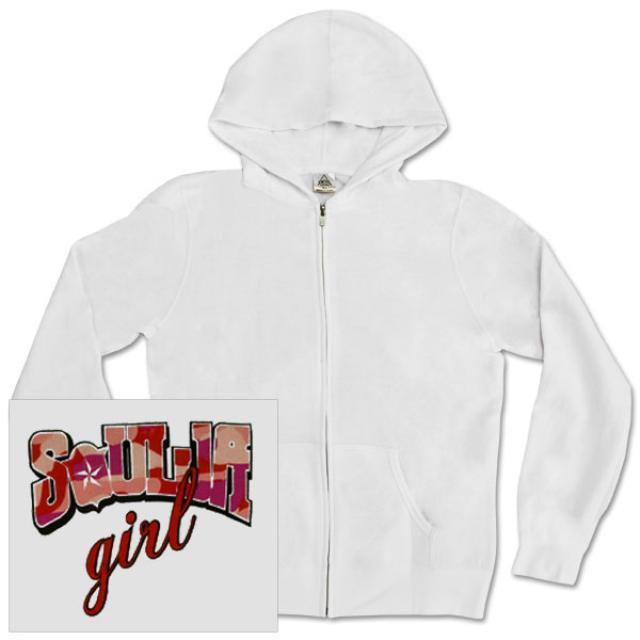 Soulja Boy Tell 'Em Soulja Girl Zip-Up Hoodie
