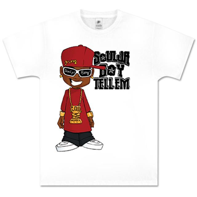 Soulja Boy Tell 'Em Caricature T-Shirt