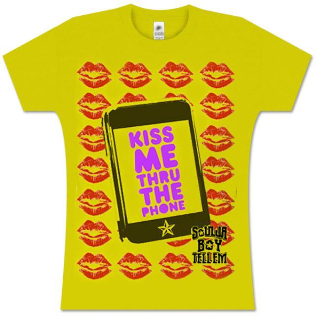 Soulja Boy Tell 'Em Cell Phone Kiss Babydoll T-Shirt